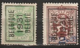 Typo 245-246 Cote €4 +€12 - Préoblitérés