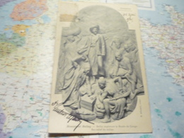Conakry Monument Bally Ballay Explorant Le Bassin Du Congo Bas-relief Du Milieu - French Guinea