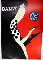 MANIFESTO PUBBLICITARIO BALLY   Illustratore VILLEMOT - Manifesti