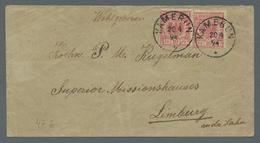 Deutsche Kolonien - Kamerun-Vorläufer: 1894, 20. 4. Früher Vorläuferbrief Aus Kamerun Nach Limburg A - Kolonie: Kamerun
