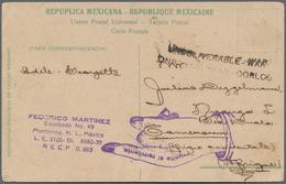 Deutsche Kolonien - Kamerun - Besonderheiten: 1915, 15.Februar, Ansichtskarte Aus Monterrey/Mexico M - Kolonie: Kamerun