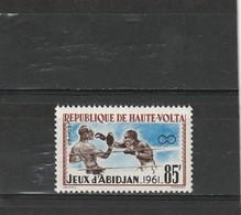 Haute Volta Neuf *   1962  N° 106    Sport. Jeux Sportifs Africains D'Abidjan - Haute-Volta (1958-1984)