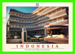 BANDUNG, INDONESIA - SAVOY HOMANN HOTEL - ANIMATED WITH CARS - TRAVEL IN 1992 - Indonésie