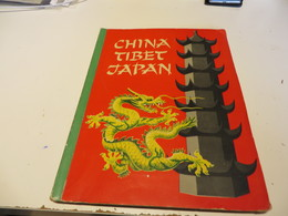 ZIGARETTENBILDER  -  SAMMELALBUM  CHINA  TIBET  JAPAN   Mit  Allen  BILDER - Sammelbilderalben & Katalogue