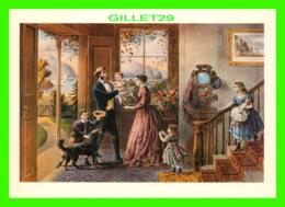 ARTS PEINTURES - THE FOUR SEASONS OF LIFE, MIDDLE AGE - CURRIER & IVES, 1868 - 1992 DOVER PUB. INC - - Peintures & Tableaux