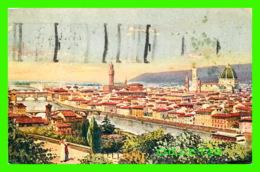 FIRENZE, ITALIA - PANORAMA - TRAVEL 1928 - - Firenze (Florence)