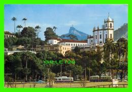 RIO DE JANEIRO, BRESIL - ÉGLISE NOTRE-DAME DE A GLOIRE - ANIMÉE AUTOBUS - CIRCULÉE - - Rio De Janeiro