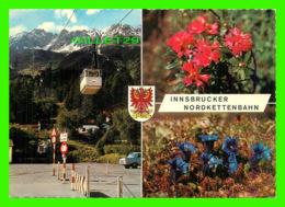 INNSBRUCKER, AUTRICHE - NORDKETTENBAHN - 3 MULTIVUES - TRAVEL IN 1969 - - Innsbruck