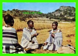 AFRIQUE DU SUD - VENDA NATIVE QOMEN - PUBLICITÉ DE PENTOTHAL SODIUM - CIRCULÉE EN 1958 - - Afrique Du Sud