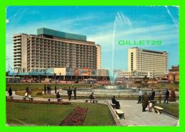 LE CAIRE, EGYPTE - HOTEL NIL-HILTON ET PALAIS DE MUNICIPALITÉ - TRAVEL IN 1982 - LEHNERT & LANDROCK - - Le Caire