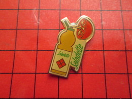 1018A Pin's Pins /  Rare & De Belle Qualité : THEME ALIMENTATION / SAUCE SALADE SALADETTE TOMATE - Food