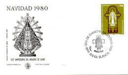 ARGENTINE. N°1235 De 1980 Sur Enveloppe 1er Jour. Miracle De Lujan. - Christentum