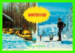 SPORTS D'HIVER - MOTONEIGES (SKI D00) ET SKI - WILSON'S SUPERB - - Sports D'hiver
