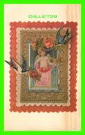 VOEUX -LOVE 'S MESSAGE - WD - CARD 1983 - - Fêtes - Voeux