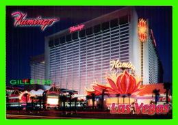 LAS VEGAS, NV - FLAMINGO AT NIGHT - VEGAS SERIES - - Las Vegas
