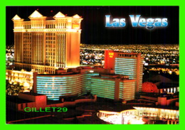 LAS VEGAS, NV - CAESARS PALACE HOTEL & CASINO AT NIGHT - VEGAS SERIES - - Las Vegas