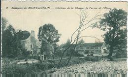 Val D'Oise : Montlignon, Environs, Chateau De La Chasse... - Montlignon