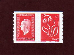 """P.66 - 3841 & 3744 De 2005 - Neuf ** -  Paire Adhésif Provient Du Carnet  """" Dulac & Lamouche"""" - Luchtpost"""