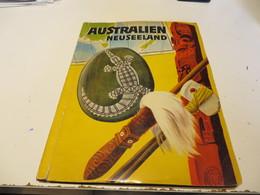 ZIGARETTENBILDER  -  SAMMELALBUM  AUSTRALIEN  NEUSEELAND   Mit  Allen  BILDER - Sammelbilderalben & Katalogue