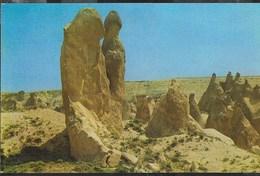 TURCHIA - CAPPADOCIA - I CAMINI DELLE FATE - VIAGGIATA 1988 - Turchia