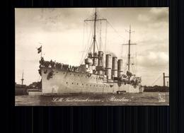 "S.M. Turbinenkreuzer ""Breslau"" - Guerre 1914-18"