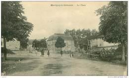 21.MARIGNY LE CAHOUET.N°15084.LA PLACE.CP RECOUPEE.VOIR ETAT - France