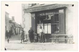 Cpa Carte-photo Gannat ( ? ) Café Boissy ( à Confirmer ) - France