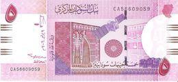 Sudan - Pick 66 - 5 Pounds 2006 - Unc - Soudan