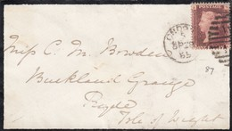 GOOD OLD GB Postal Cover 1865 - Victoria - Covers & Documents
