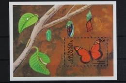 Grenada-Grenadinen, Schmetterlinge, MiNr. Block 212, Postfrisch / MNH - Grenade (1974-...)