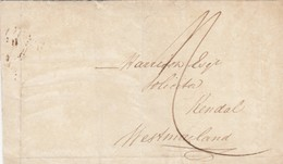 GOOD OLD GB Postal Cover 1838 - Great Britain
