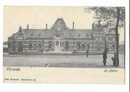 Vilvoorde   ( M 4842 )  Het Station  En Monument ( La Gare Et Monument) - Vilvoorde