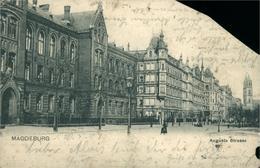 MAGDEBURG Augusta Strasse (grand Manque Dans La Carte ) - Magdeburg