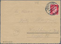 KZ-Post: KZ STUTTHOF: Vordruck-Kartenbrief Mit Text Nach Karthaus/Westpreussen - Deutschland