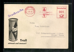 Düsseldorf- Heerdt, Freistempler: Troll - Scheuert Und Erneuert, 1948 - Non Classificati