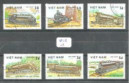 VIE YT 387/392 En Obl - Vietnam
