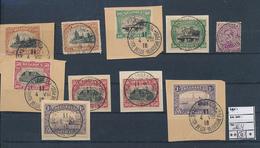 BELGIUM 1915 ISSUE SELETION USED ST ADRESSE 1915 - 1915-1920 Albert I