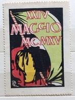 XXIV MAGGIO  MCMXV     ERINNOFILO CHIUDILETTERA ETICHETTA PUBBLICITARIA - Francobolli