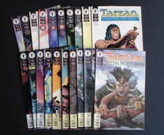 Tarzan - # 1 To 20 - Full Series - Dark Horse Comics - In English - 1996/1998 - Very Good Condition. - Livres, BD, Revues