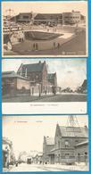 (G026) BLANKENBERGE - La Gare - De Statie - En 1907, 1920, 1955. - Blankenberge
