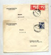Lettre Cachet Beograd Sur Metier - 1945-1992 Sozialistische Föderative Republik Jugoslawien
