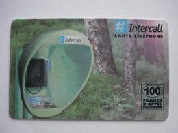 "Carte Prépayée Française ""INTERCALL"" (utilisée Luxe). - Cellphone Cards (refills)"