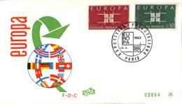 [404748]Allemagne 1963 -  Europa-Cept, Drapeaux - [7] Federal Republic