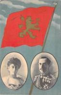 FAMILLES ROYALES - NORGE Norvège Norway : Le ROI HAAKON VII Et La Reine MAUD De GALLES - CPA-  Norwegen Noorwegen - Familles Royales