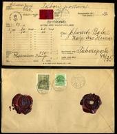 ELEK 1942. II. VH. Értéklevél Tábori Postára Küldve  /  WW II Money Letter To FPO - Covers & Documents