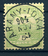 ARANYIDKA 5f Szép Egykörös Bélyegzés  /  5f Nice Single Cycle Pmk - Hungary