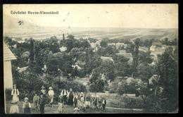 HEVES VISONTA 1910. Régi Képeslap  /  1910 Vintage Pic. P.card - Hungary