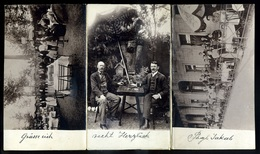 TEMESVÁR 1903. Pögl Jakab Vendéglője, Amatőr Fotós ,leporellós Képeslap !  /  1903 Jakab Pögl's Restaurant Amateur Photo - Hungary