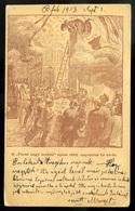 BUDAPEST 1903. A Párisi áruház égése, Régi Képeslap  /  BUDAPEST 1903 Burning Of The Paris Department Store - Hungary