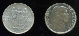 CSEHSZLOVÁKIA 1934-37. Kis Tétel, 2db  /  CZECKOSLOVAKIA 1934-37 Small Bundle 2 - Czechoslovakia